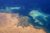 Luftaufnahme der Ferienstadt El Gouna - 203054497