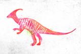 Dynosaur parasaurolophus vivid - 203085643