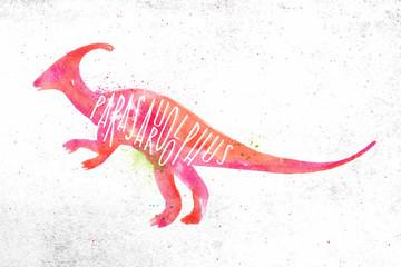 Dynosaur parasaurolophus vivid © anna42f