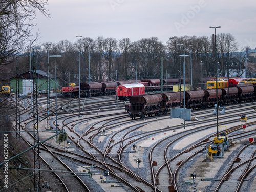 railroad infrastructure; goods and passenger transportation system