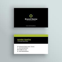 Elegant Modern Business Card  Design Sticker