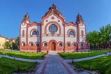 Hungarian Art Nouveau synagogue in Subotica, Serbia - 203094497