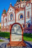 Hungarian Art Nouveau synagogue in Subotica, Serbia - 203094498