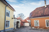 Tallinn Old town, Estonia. Street view