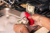 The concept of money laundering dollar - 203113268