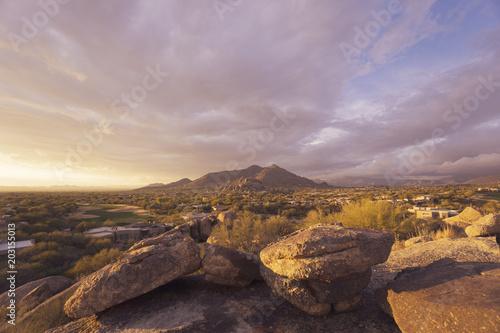 Aluminium Arizona Scottsdale,Arizona desert landscape