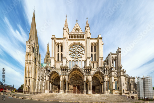 South side of Chartres Cathedral