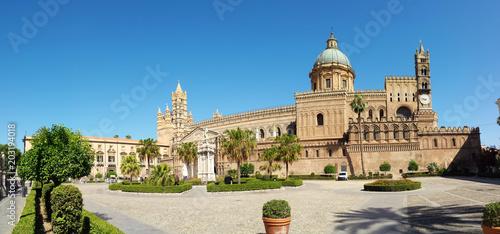 Plexiglas Palermo the cathedral of Palermo Santa Vergine Maria Assunta