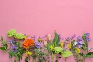 春の花 背景素材