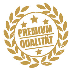 Goldener Stempel Premium Qualität © Trueffelpix