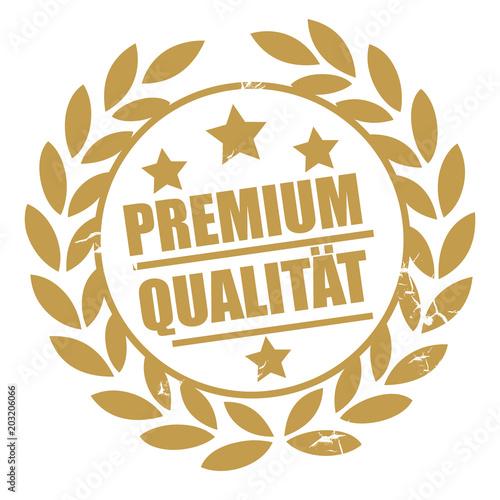 Fototapeta Goldener Stempel Premium Qualität