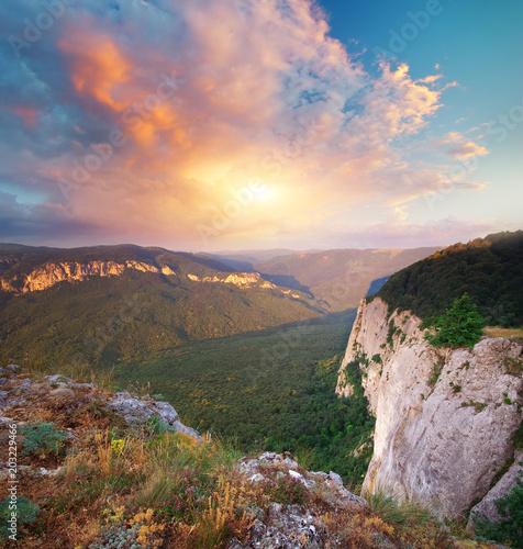 Mountain landscape nature.