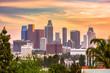 Quadro Los Angeles, California, USA Skyline