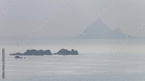 Vue sur Blasket Islands en Irlande