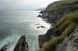Mer déchaînée à Blasket Islands en Irlande