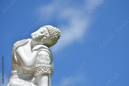 Canvas Boeddha Schlafender Buddha