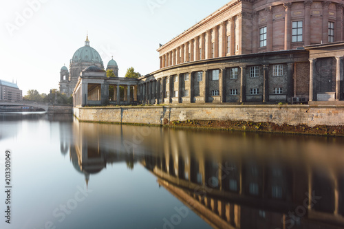 Berlin Cathedral in the summer