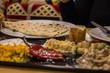 Türkische Küche - gemischte Vorspeisen