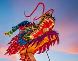 Chinese Dragon Lantern Head - 203329425