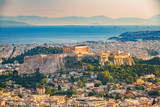 Panoramic aerial view of Athens, Greece at summer day - 203334458