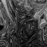 Black and white marble ink texture pattern creative abstract background. - 203368266
