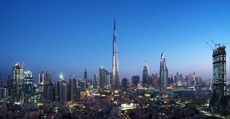 Dubai skyline, United Arab Emirates © Iakov Kalinin