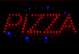 Lighted sign of Pizza - 203378071