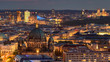 Nightscape Berlin city Germany