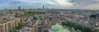 Beautiful panoramic aerial view of London buildings