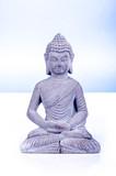 little stone Buddha statue