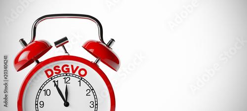DSGVO Datenschutz-Grundverordnung Konzept - 203404241