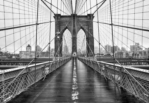Fototapeten Brooklyn Bridge Brooklyn bridge of New York City