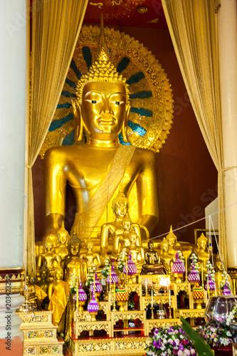 Canvas Boeddha Chiang Rai, Thailande