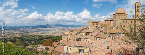 Plexiglas Zalm Panorama Volterra