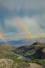 Double Rainbow Over Big Bend