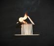 Quadro Burning Match House