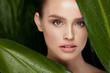 Skin Care. Beautiful Woman With Natural Makeup
