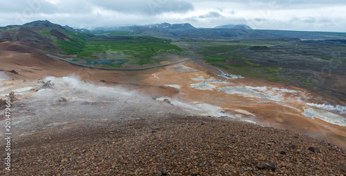 Namafjall Caldera, Iceland