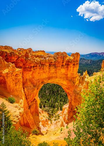 Aluminium Oranje eclat The Bryce Canyon National Park, Utah, United States