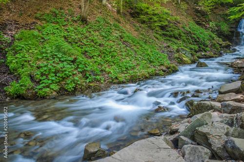Aluminium Bergrivier Mountain river