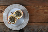 Granadilla or grenadia passionfruit