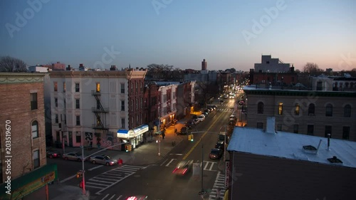 Sunset timelapse from a rooftop in Brooklyn.