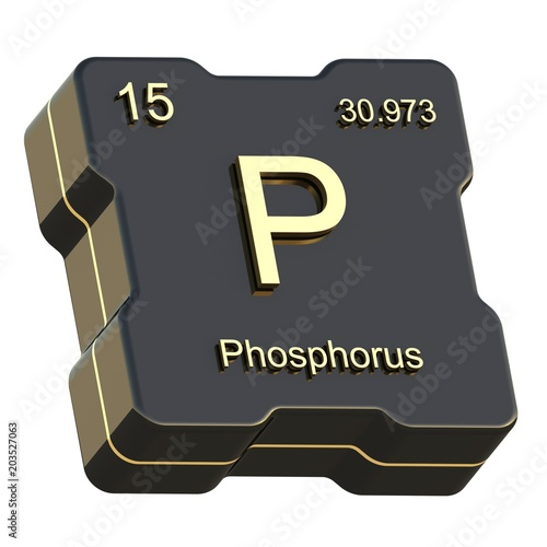 Phosphorous buy photos ap images search phosphorus element symbol from periodic table on futuristic black icon isolated on white background urtaz Image collections