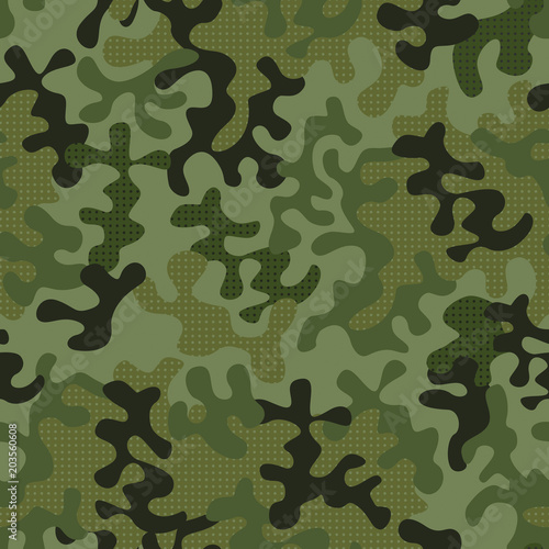 moro military uniform pattern