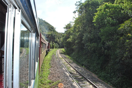 Plexiglas Spoorlijn curitiba -pr