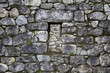 Stone wall at Machu Picchu, Peru