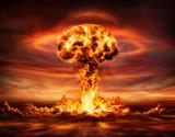 Nuclear Bomb Explosion -  Mushroom Cloud - 203577294