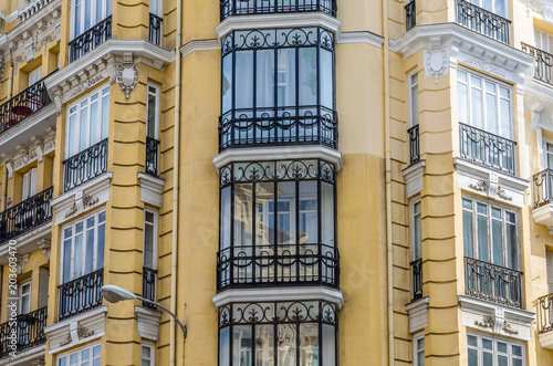 Architectural detail in Madrid