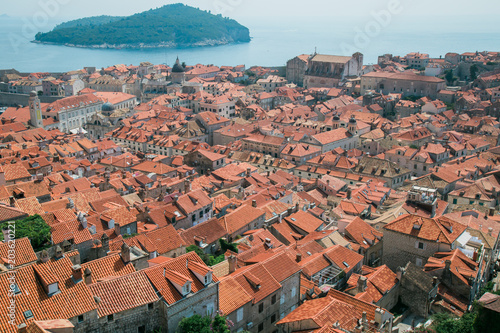 Poster Roofs of Dubrovnik