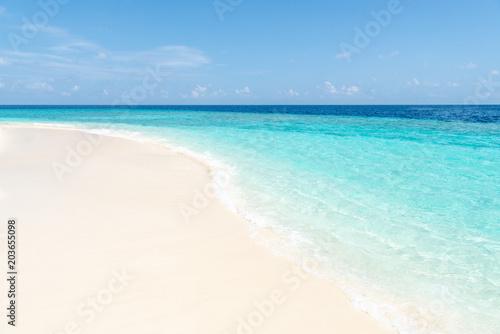 Foto Murales Sommer, Sonne, Strand und Meer